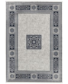 "Sanford Milan 2831OF81MA Gray 7'10"" x 10'10"" Area Rug"