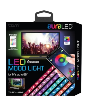 auraLED Remote-Controlled Led Mood Light Strip with Smartphone App