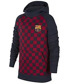 Big Boys FC Barcelona Club Team Fleece Hoodie
