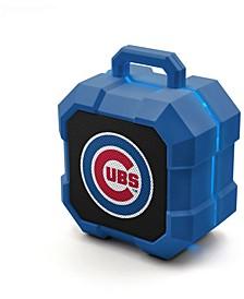 Prime Brands Chicago Cubs Shockbox LED Speaker