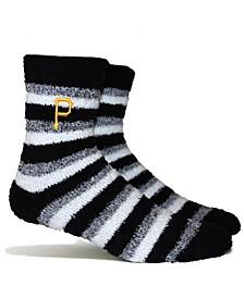 Pittsburgh Pirates Fuzzy Steps Socks