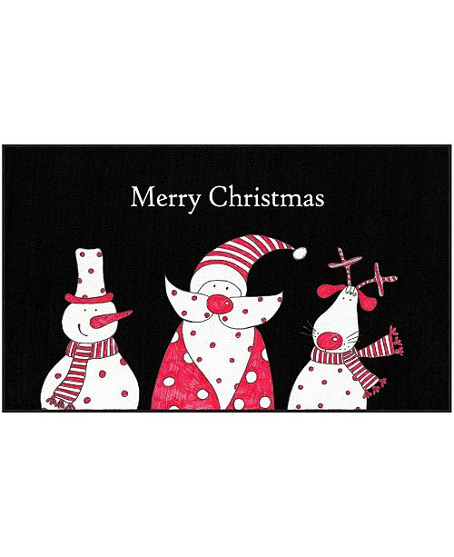 """Mohawk Christmas Friends Accent Rug, 24"""" x 40"""""""