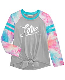 Big Girls Love Tie-Dye Top