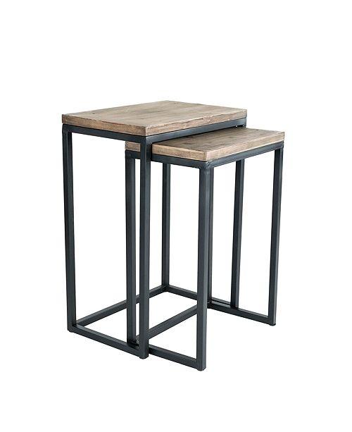 Click Decor Parker Nesting Table Set