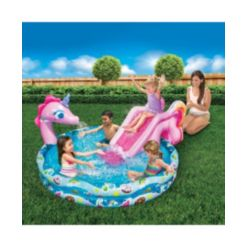 "Banzai Spray 'N Splash 60"" Unicorn Pool"