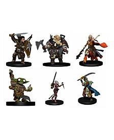 Pathfinder Battles - Iconic Heroes Evolved Figures Set - 6 Pack