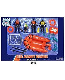 U.S. Coast Guard Playset with Figures