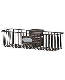 Storage Trends 3 x 12 Slatwall Mounted Metal Wire Shelf Basket