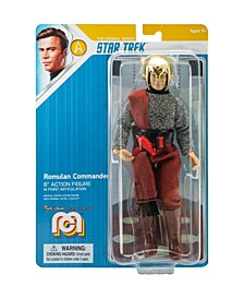 "Mego Action Figure 8"" Star Trek - Romulan Commander Limited Edition Collector's Item"