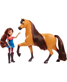 DreamWorks Riding Free Lucky Doll Classic Spirit Horse