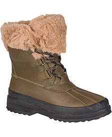 Women's Maritime Leather Winter Boots