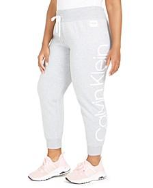 Plus Size Jumbo-Logo Jogger Pants