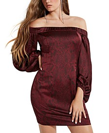 Jana Snake Print Dress
