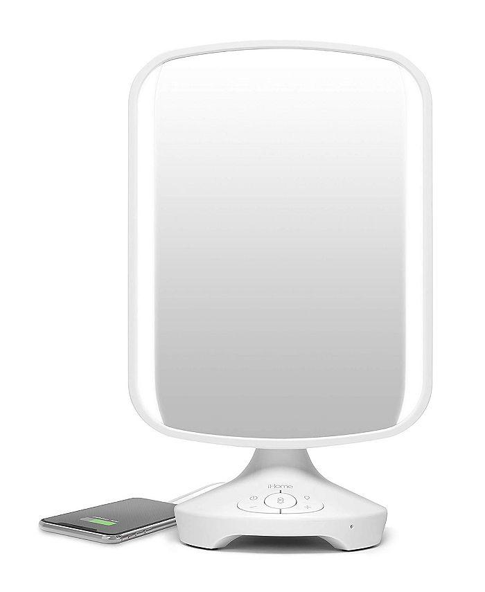 iHome - REFLECT II Vanity Mirror with Bluetooth Speakerphone and USB Charging