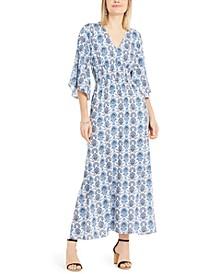 INC Kimono-Sleeve Maxi Dress, Created For Macy's