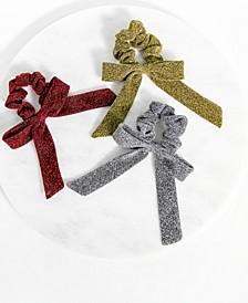 3-Pc. Bow Scrunchie Set
