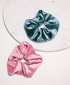 2-Pc. Velvet Scrunchie Set
