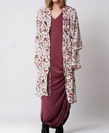 Tiered Sleeves Palma Kimono