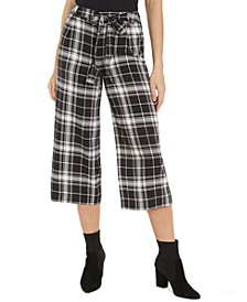 Printed Cropped Wide-Leg Pants, Created For Macy's