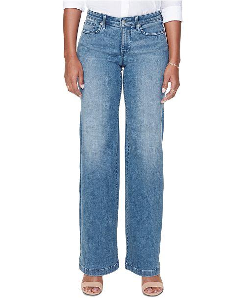 NYDJ Brickell Wide-Leg Jeans
