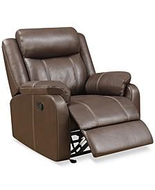 "Fleurus 40"" Fabric Gliding Reclining Chair"