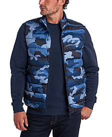 Men's Camouflage Quilted Gilet