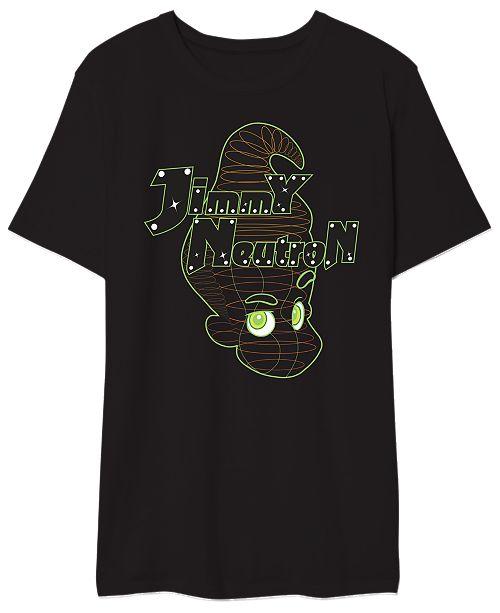 Hybrid Jimmy Neutron Men's Graphic T-Shirt