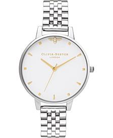 Women's Queen Bee Stainless Steel Bracelet Watch 38mm
