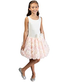 Toddler Girls Drop-Waist Bonaz Dress