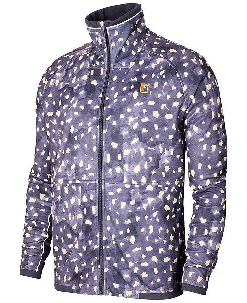 Nike Men's Court Printed Tennis Jacket