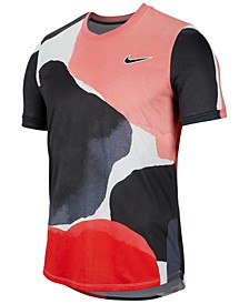 Men's Court Challenger Printed Tennis Top