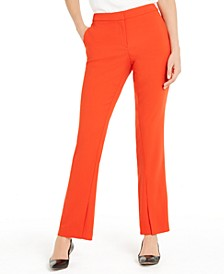 Slit-Hem Boot-Cut Pants, Created For Macy's