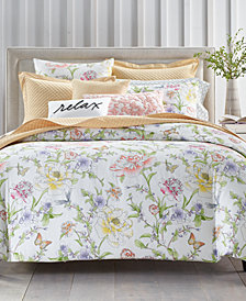 Charter Club Damask Designs Blossom 300-Thread Count Bedding Collection, Created for Macy's