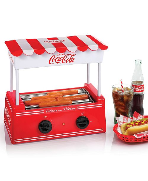 Nostalgia Coca-Cola Hot Dog Roller HDR8CK