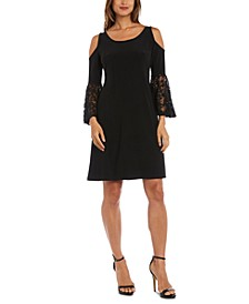 Cold-Shoulder Sheath Dress