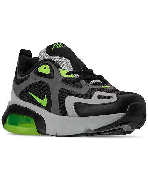 Nike Big Boys Air Max 200 Casual Sneakers from Finish Line