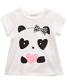 Toddler Girls Panda Hearts T-Shirt, Created For Macy's