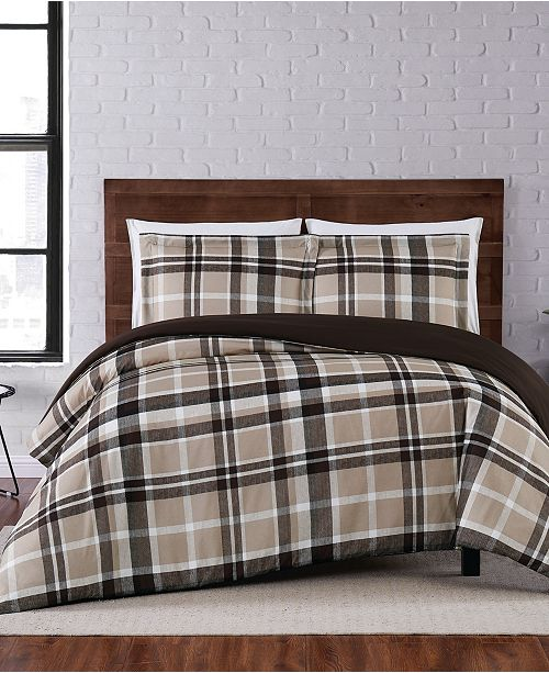Truly Soft Paulette Plaid Twin XL Duvet Set