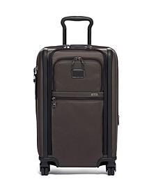 Alpha 3 International Dual Access 4-Wheeled Carry-On Luggage