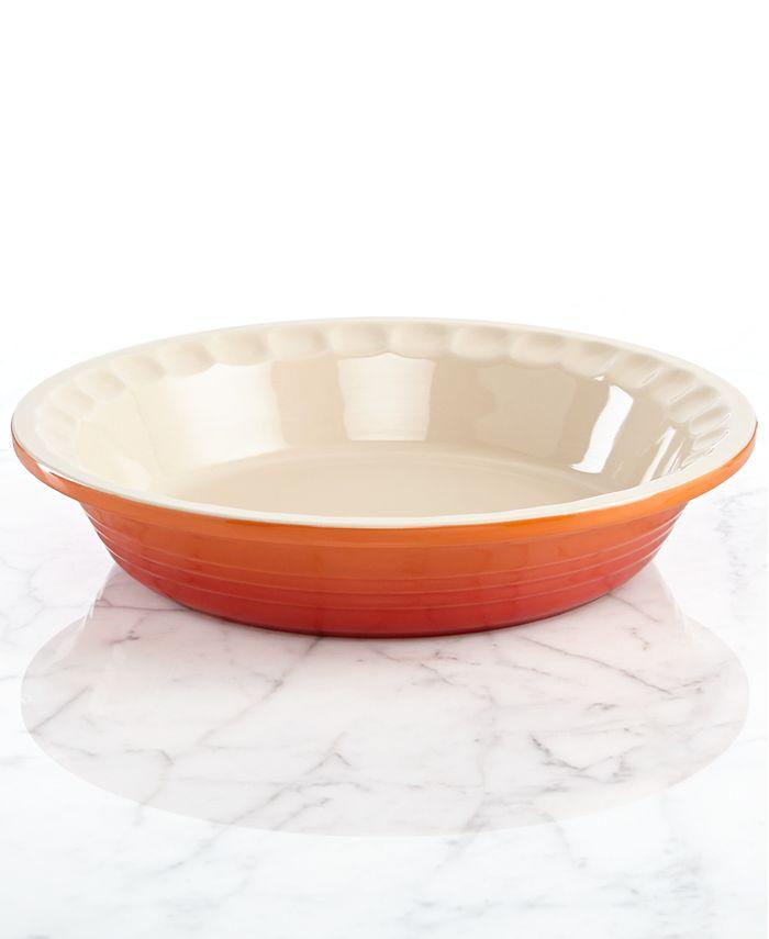 "Le Creuset - Heritage Stoneware Pie Dish, 9"""