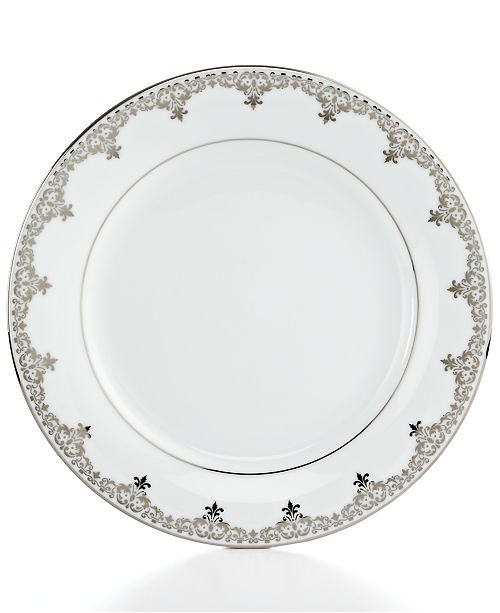 Incredible Charter Club Dinnerware Grand Buffet Platinum Accent Plate Complete Home Design Collection Epsylindsey Bellcom