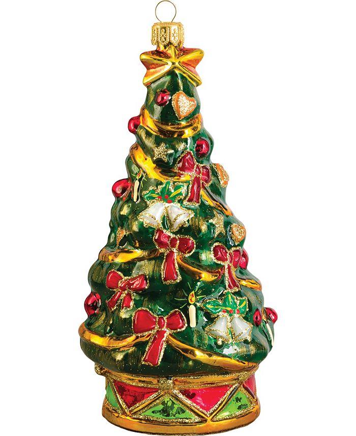 Joy to the World - MB Glass- O Christmas Tree