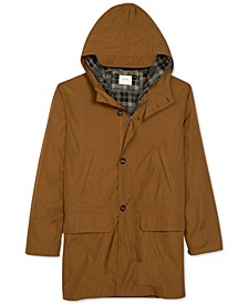 Men's Water-Resistant Three-Way Hooded Parka