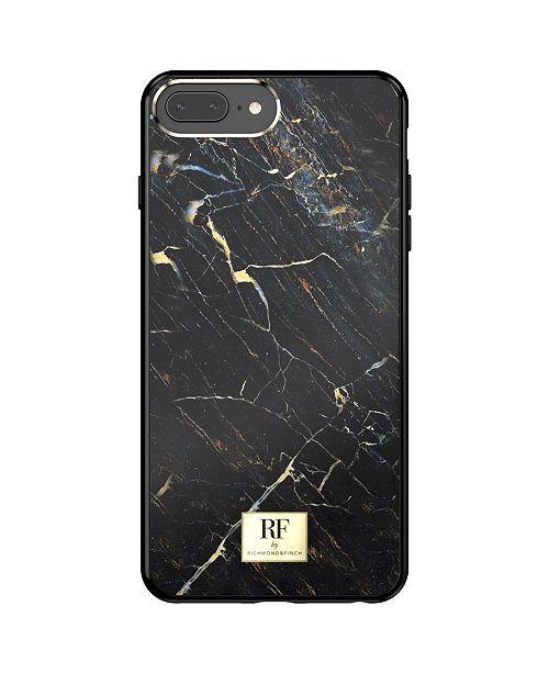 Richmond&Finch Black Marble Case for iPhone 6/6s, iPhone 7, iPhone 8 PLUS