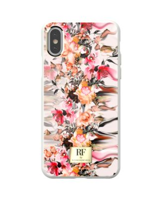 Marble Flower Case for iPhone X