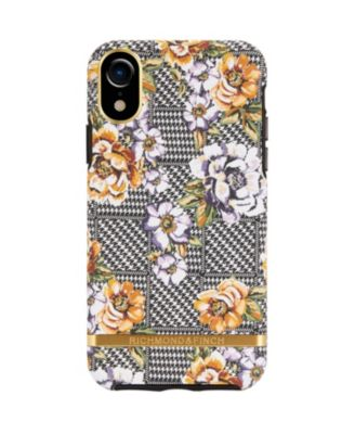 Floral Tweed Case for iPhone XR