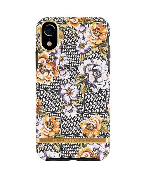 Richmond&Finch Floral Tweed Case for iPhone XR