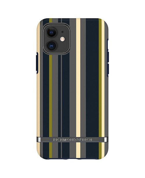Richmond&Finch Navy Stripes Case for iPhone 11