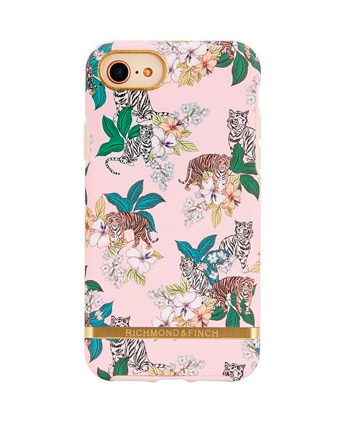 Richmond&Finch Pink Tiger Case for iPhone 6/6s, 7 and 8