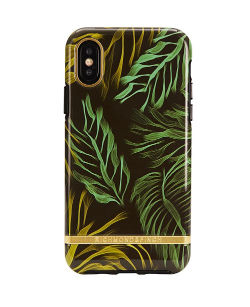 Richmond&Finch Tropical Storm Case for iPhone XS MAX